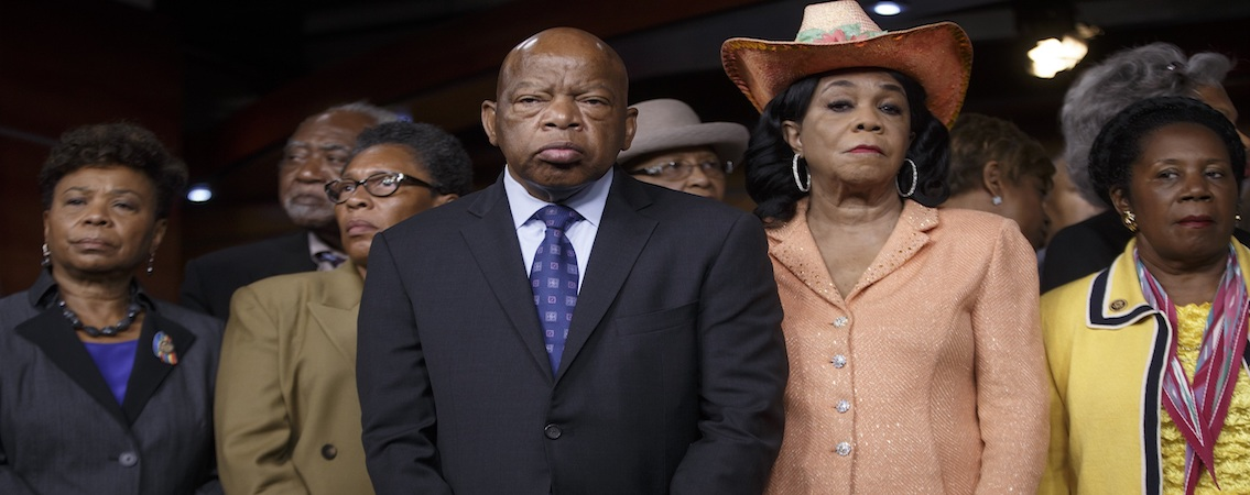 House (of Representatives) Negroes Rally Against Russia