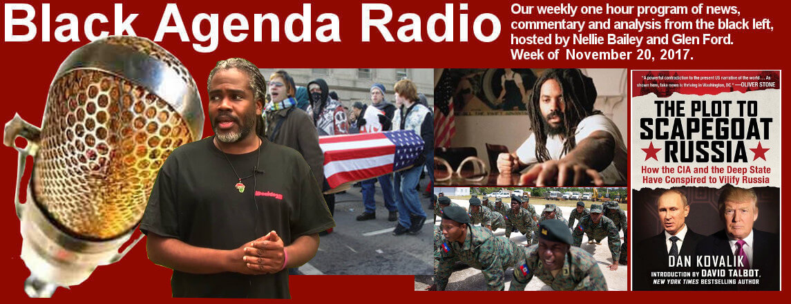 Black Agenda Radio Week of November 20, 2017