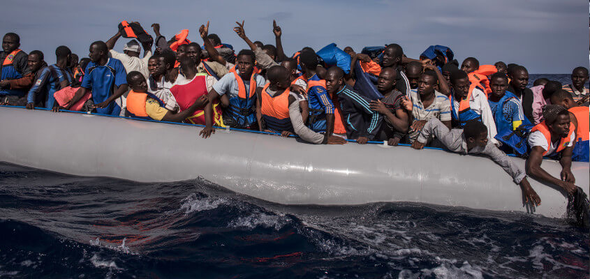 Britain, Libya and the Mediterranean: The Creation of a Humanitarian Emergency