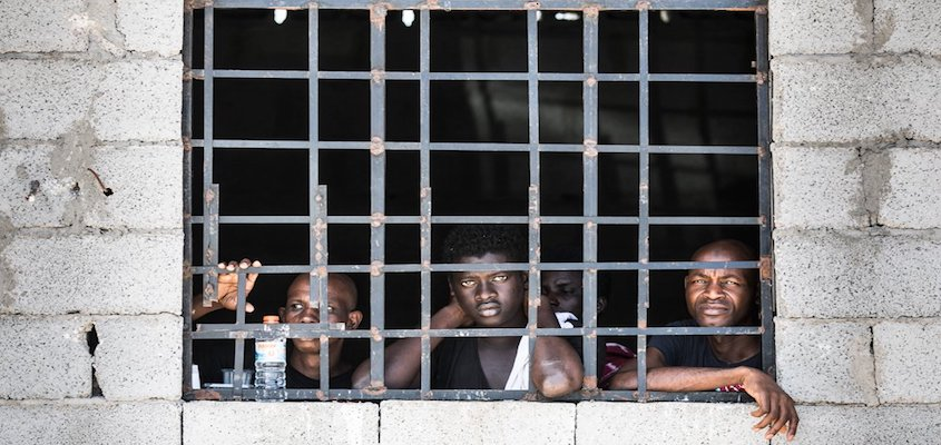 Concentration Camps for African Migrants Blocked from Entering Europe Are Popping Up Across Libya