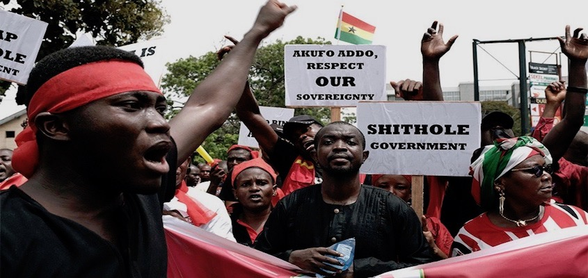 Ghana Opposition Against AFRICOM Deal
