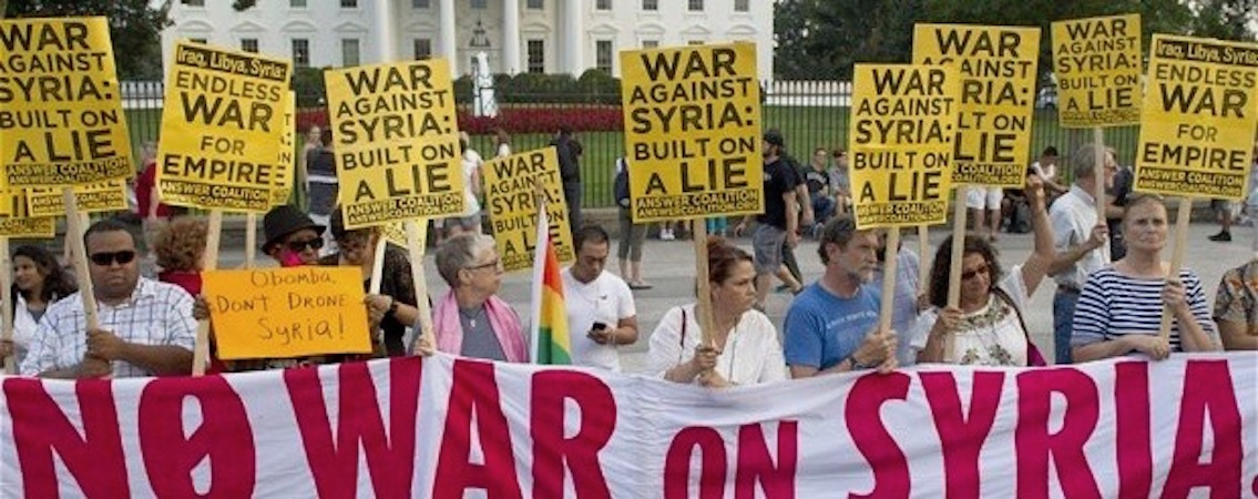 Freedom Rider: Syria and Press Propaganda