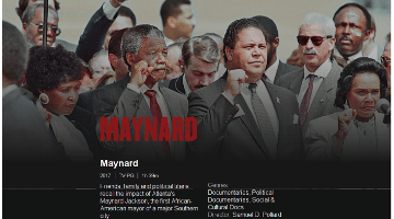 Maynard Jackson Movie Muddles Black Politics, Mangles Black History