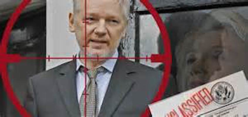 In the Crosshairs of the Washington Mafia: Venezuela and Julian Assange