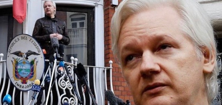 Julian Assange Threatened With Expulsion from Embassy