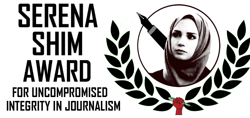 The Serena Shim Award For Uncompromised Integrity in Journalism