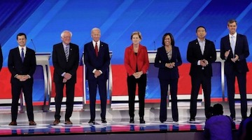 Warmongering Democratic Candidates for President