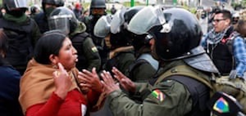 Bolivia Coup: Hatred of the Indian
