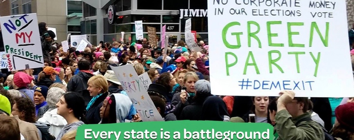 Safe States Strategy from Hell: Greens Respond to Progressive Left Dems
