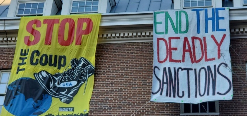 Embassy Protectors Will Not Be Able to Tell Jury Guaido Is Not President, or Mention International Law