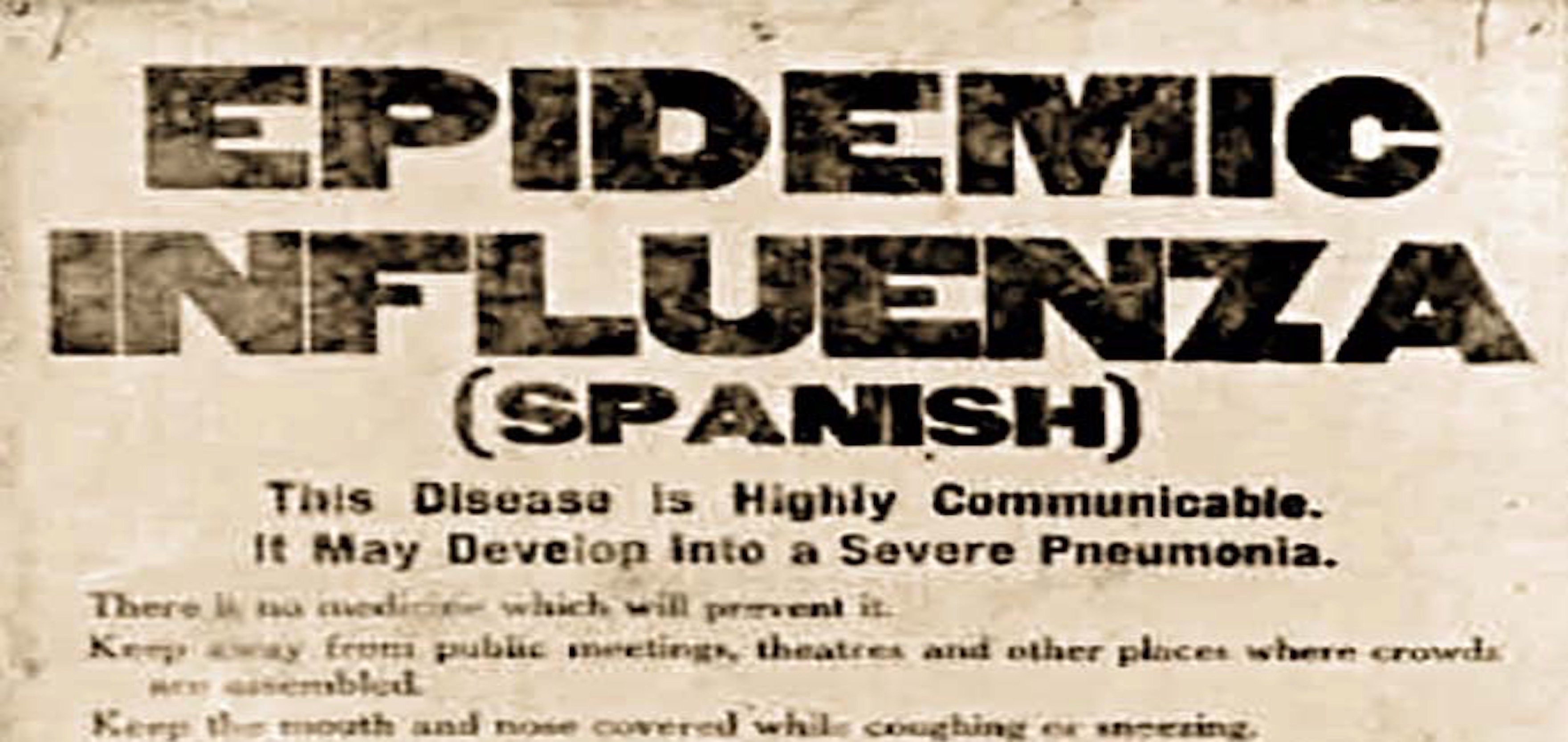 In 1918 and 2020, Race Colors America's Response to Epidemics