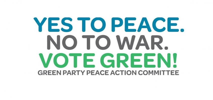 Truth + Justice = Green Party's Trailblazing World Peace Platform