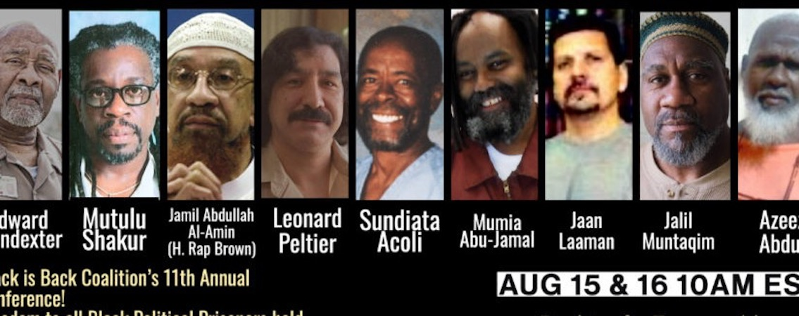 "Political Prisoners: ""Say Their Names"""