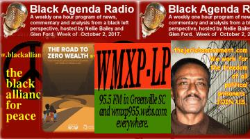 Black Agenda Radio, week of October 2, 2017