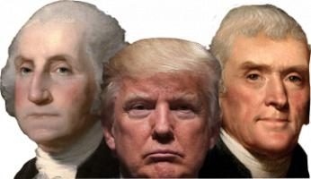 Following Footsteps of the Founding Fathers…
