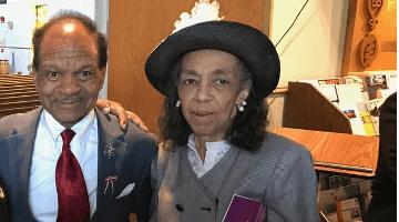 Walter Fauntroy and wife, 2017