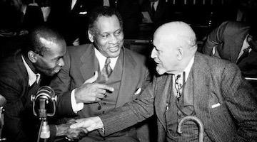 """The Truth Shall Make You Free"": The Friendship Of Paul Robeson, Shirley Graham Du Bois, and W.E.B Du Bois"