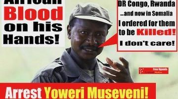 Stop MusevenI – the US-Backed Mass Murderer of Africans