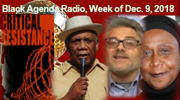 Black Agenda Radio, Week of December 9, 2018