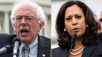 Bernie Sanders vs Kamala the Jailer and Her Corporate Backers