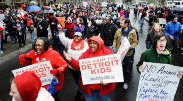 Detroit Teacher Sickout