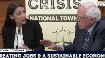 Ocasio-Cortez, Sanders, Trump and the State of Imperial Decline