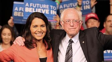 Corporate Media Cold Warriors Smear Sanders and Gabbard as Traitors to Empire