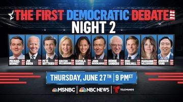 2020 Democratic Party Debates Encircle Sanders with Wall Street's Political Dogs