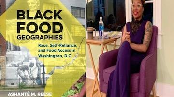 "BAR Book Forum: Ashanté Reese's ""Black Food Geographies"""