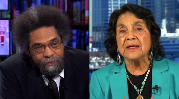 Brown Misleader Dolores Huerta Can't Stop Hustling for Neoliberalism