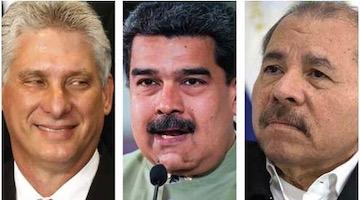 An Axis of Hope, Dignity and Defiance stands up to the Triumvirate of Evil