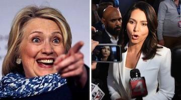 Hillary Busts Tulsiasha Gabbardskaya and Jillia Steinakanova: What Could Go Wrong?