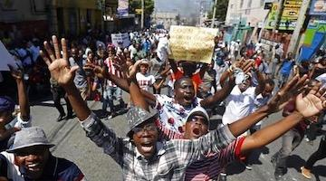 Haitians Blame US and France for Corrupt Regime
