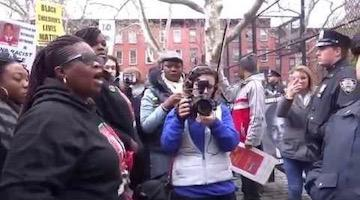 "Catch the ""'F' the Police"" Train"