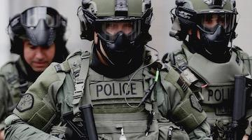 The US Surges Into A Police State While Media White Out Structural Racism