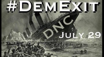 Sanders Gets Swallowed by the DNC Machine: It's Time to #DemExit