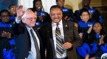 Jesse Jackson's Endorsement of Bernie Sanders