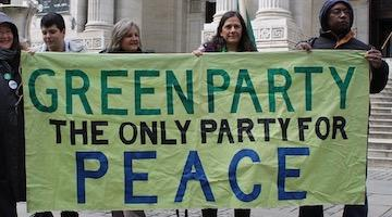 "Green Party is ""Vital"" to Growth of Grassroots Movement"
