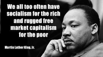 Martin Luther King Jr. and the Socialist Within