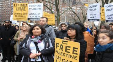 Fordham University Is One of Many Canaries in the Zionist Coal Mine
